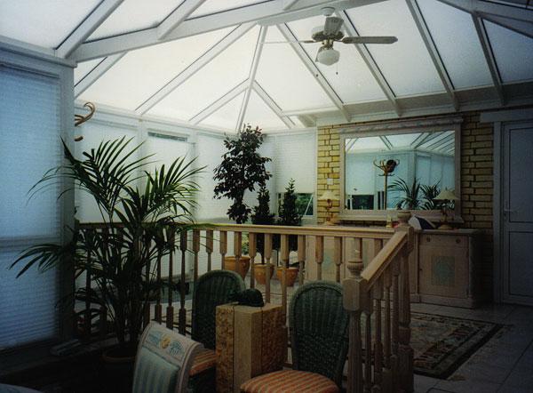 Conservatories windows by interior design for Conservatory interior designs